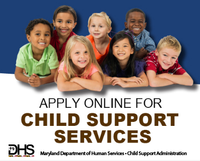 Apply online for child support services